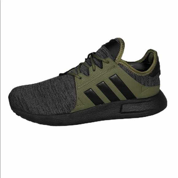 Adidas Women Raw Khaki Dark Grey Heather Size 7.5